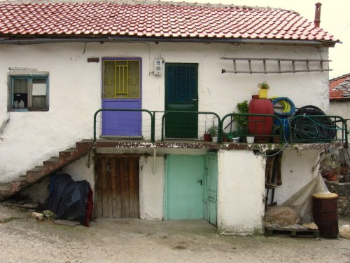 Pomak house, Greece