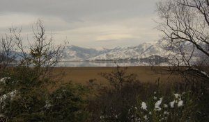 Lesser Prespa Lake, Winter