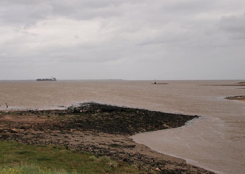 The tide returning