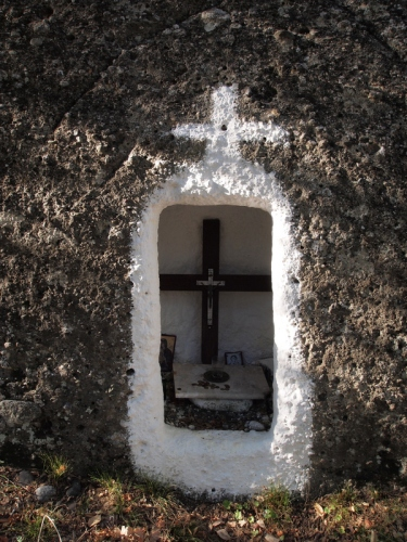 Inset cross