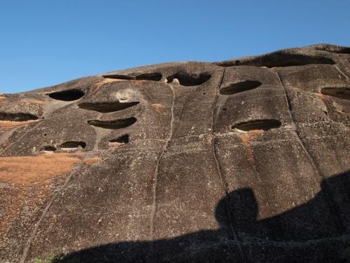 Stones caves