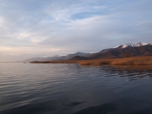 Easter, Lesser Prespa Lake