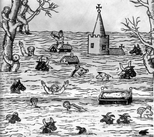 Bristol Channel Flood, 1607
