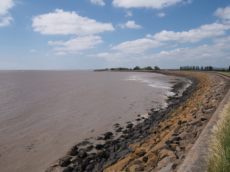 Severn Estuary near Goldcliff