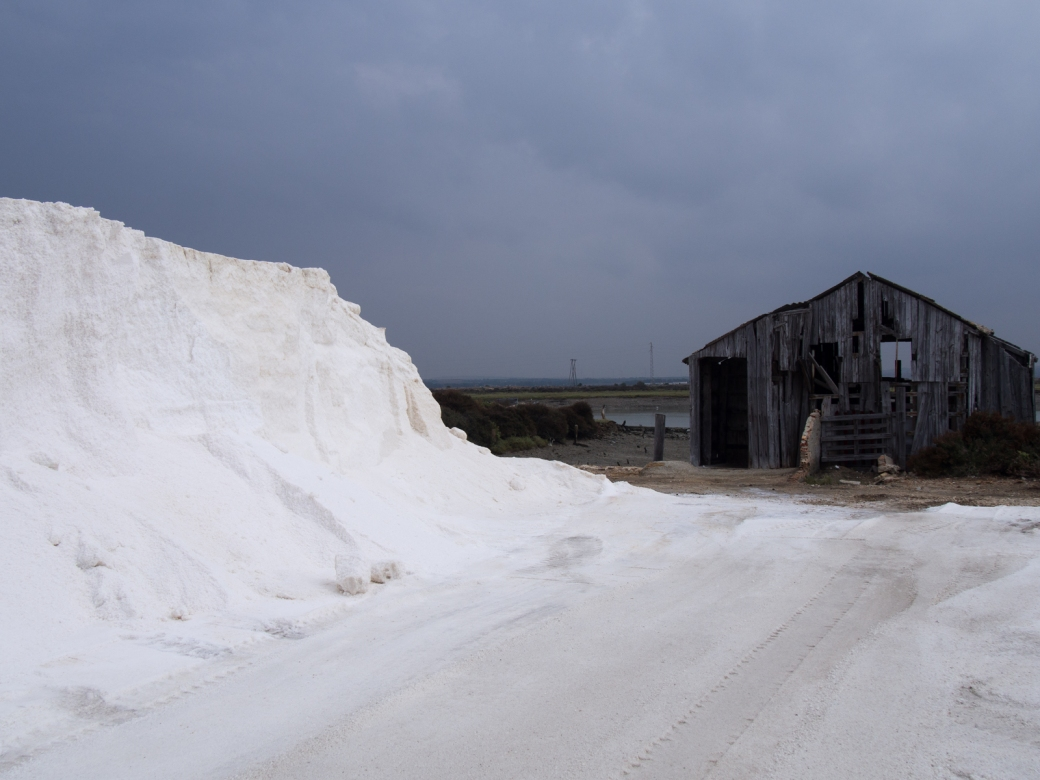 Salt storage shed a year older than Manuel
