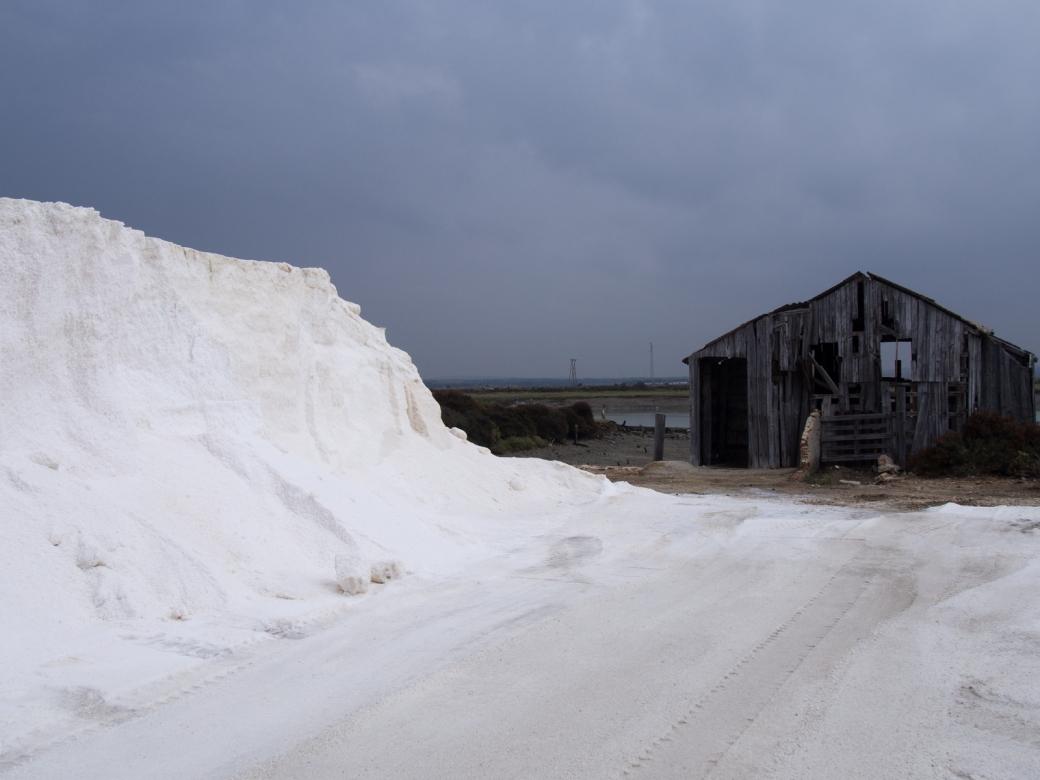 Salt storage shed a year older than Manuel