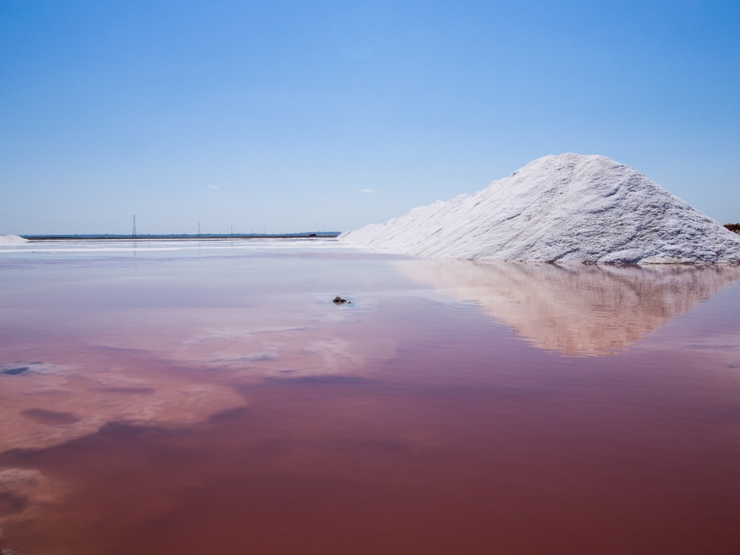 Salt pan of La Tapa